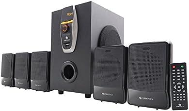 Zebronics ZEB-6860-BTRUCF 5.1 Multimedia Home Theatre System with Bluetooth (Black)