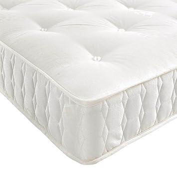 pocket spring mattress single double king size 4ft6 double amazoncouk kitchen u0026 home
