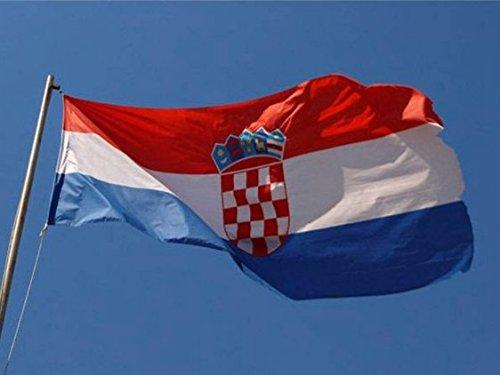 Unicoco 90 x 150 cm Flagge Kroatien Fahne