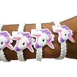 Party Propz Unicorn Wrist Band Or Unicorn Bracelet For Unicorn Theme Birthday Return Gifts Or Return Gifts For Kids (Set Of 24)