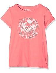 Roxy galaxyseventies–Camiseta para niña, Camiseta, Galaxyseventies, Sugar Coral, FR : Taille 10/M (Taille Fabricant : Taille 10/M)