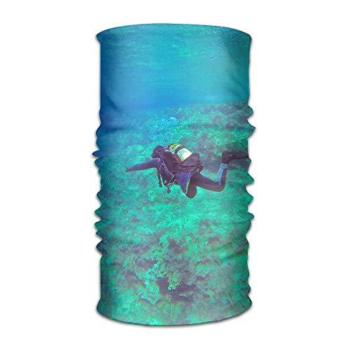 Icndpshorts Versatile Headwear Outdoor Headband Headscarf Diving Scuba Diver Mask Sweatband Bandana -