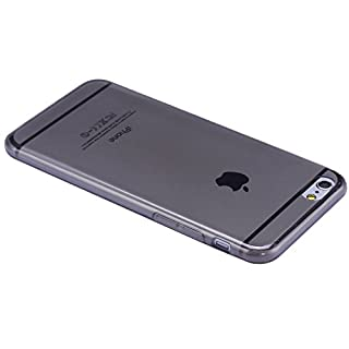 "Liamoo iPhone 6 / 6s Hülle TPU (4,7"") sehr dünne rundum Schutzhülle Cover Case Cover (grau durchsichtig) (B00MWZ7YY6) 