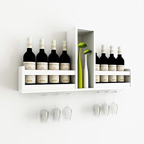 WURE Modernen minimalistischen Holz Wandbehang Weingestell Bar Hause Weinkühler kreative...