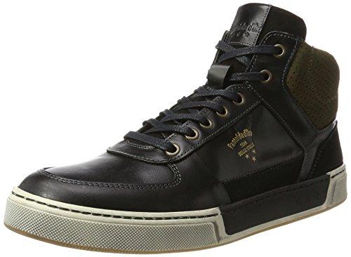 Pantofola d'Oro Frederico Uomo Mid, Baskets Hautes Homme Schwarz (Black)