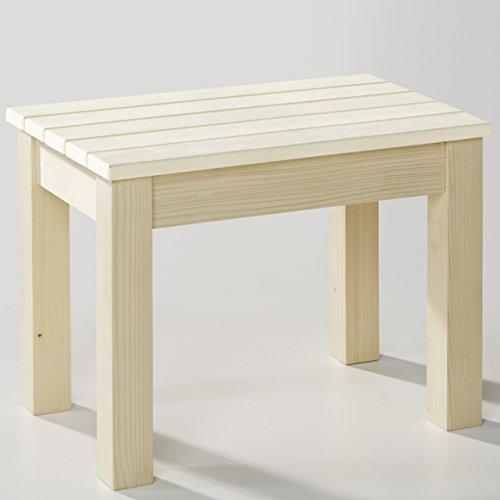 Unbekannt Infraworld Saunahocker Sitzfläche Espe Standfüße Fichte Saunazubehör B3413