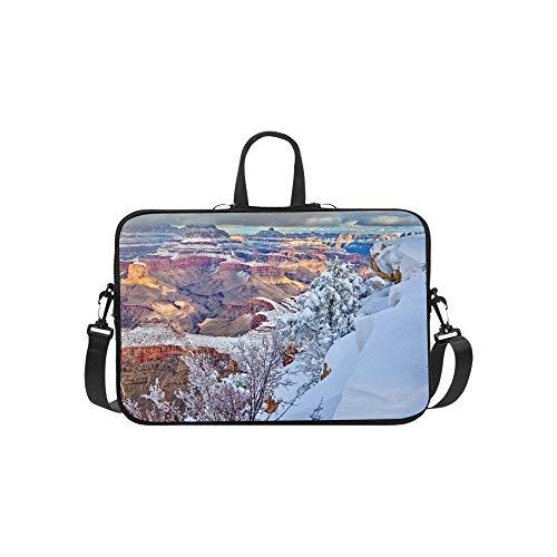 Erstaunliche Ansichten von Grand Canyon Arizona Muster Aktenkoffer Laptoptasche Messenger Schulter Arbeitstasche Crossbody Handtasche für Geschäftsreisen