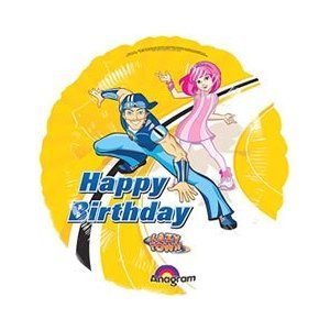 "Lazy Town balloon - Lazy Town flat 18"" Flat Foil Balloon"
