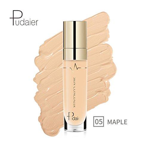 Upxiang Gesicht Eye Foundation Concealer, Highlight Contour Gesicht Concealer, Natrual Cream Concealer, flüssige Stick Eraser Blemish Concealer, Makeup Stick Concealer (05#) -
