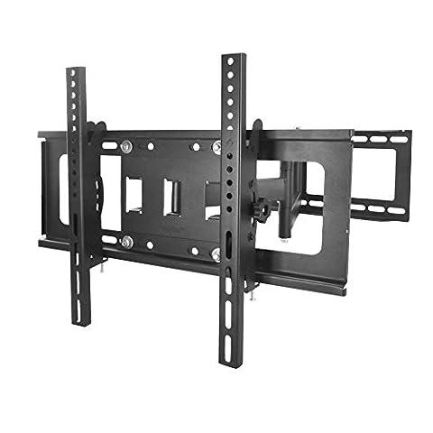 Sunydeal TV Wandhalterung, schwenkbar, neigbar, Wandhalter für Fernseher mit 76-153cm (30-60