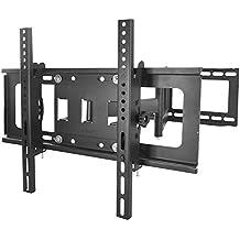 Sunydeal TV Supporto a Muro TV per televisori orientabile inclinabile LED TV LCD Distanza tra (Led Wall Mount)