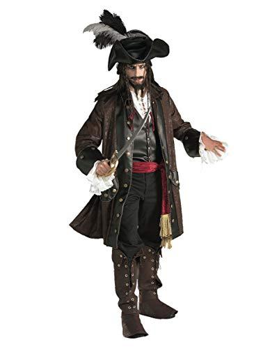 Caribbean Piraten Kostüm - Deluxe Caribbean Pirat Kostüm