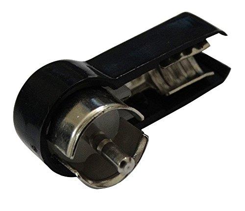 Standard Antennen-stecker (Aerzetix sk2C10010Stecker Winkelstecker ISO Crimpzange für Antenne Autoradio Kabel RG58)