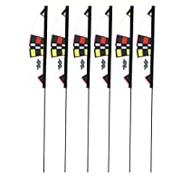 Premier RC Micro Slalom Air Race Gate 6-Pack Set For FPV Drone Racing by Premier Kites & Designs