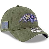online retailer e45c1 6848c New Era Baltimore Ravens 2018 Salute to Service 9TWENTY NFL Cap
