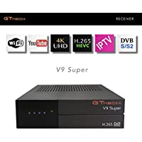 GTMEDIA V9 SUPER, DVB-S2, H.265 HEVC, RECEPTOR DE TV POR SATELITE, IPTV, DECODIFICADOR, RECEIVER