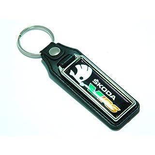 """Schlüsselanhänger von auto-badges mit Aufschrift """"Skoda VRS"""", Octavia, Fabia"""