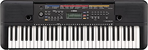 Yamaha PSR-E263 61-Key Portable Keyboard with adaptor