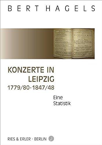 Konzerte in Leipzig 1779/80-1847/48: Eine Statistik