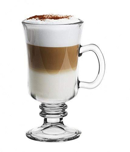 Topkapi 250.670 - Irish Coffee, Punsch, Glühwein, Heiße Schokolade Becher mit Henkel, Modell 44856~225 ml, 6 Stück, II. Wahl