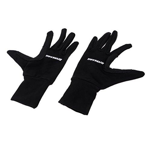 Homyl 1 Paar 5-Finger Stretch Neoprenanzug Handschuhe Anti-Rutsch Tauchhandschuhe für Taucher Tauchen Schnorcheln Surfen - L (Finger Neoprenanzug Handschuhe)