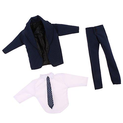 Puppen Mode-, Spielpuppen & Zubehör 1 Satz Puppe Formalen Anzug Shirts Hosen Schuhe Outfit fürKen Prince