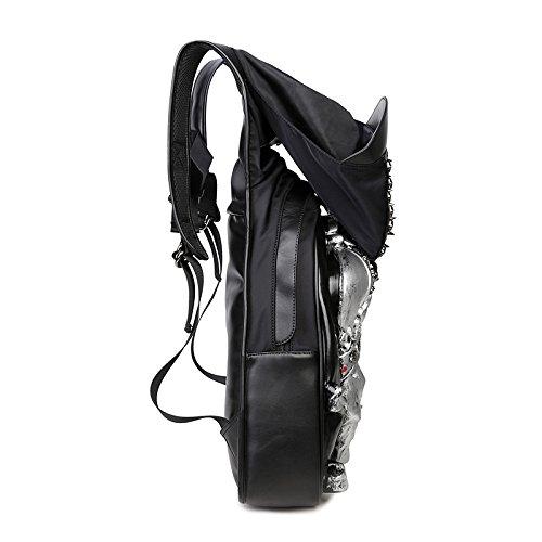 SZH Durevole spalla sacchetto impermeabile Escursionismo Zaino di viaggio per gli sport esterni , gold Silver