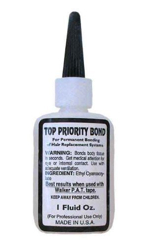 Top Priority Hard bond adhesive by Walker BEAUTY (English Manual)