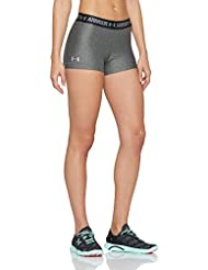 Under Armour Damen Ua Hg Shorty Fitness-Hosen & Shorts, Schwarz / Grau, Einheitsgröße