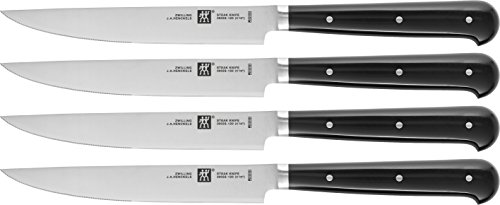 Zwilling Steak-Sets 39029-002-0 Set da Bistecca, 4 Pezzi, 294 x 147 x 31 mm