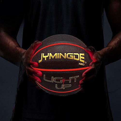 Light Up Basketball Uses Two Bright LED's Ballon De Basket Lumineux Illuminate LED Light Up Glow Basketball in The Dark Night Basketball Sport