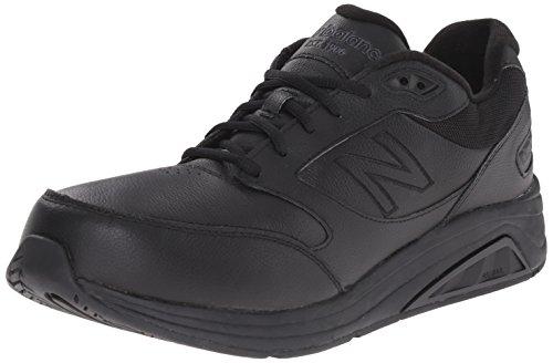 New Balance Men's MW928V2 Walking Shoe, Black, 10 2E US Black