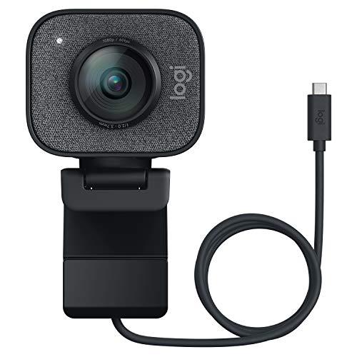 Logitech Streamcam Webcam avec USB-C Pour Le Streaming Et La Création De Contenu, Vidéo Verticale...