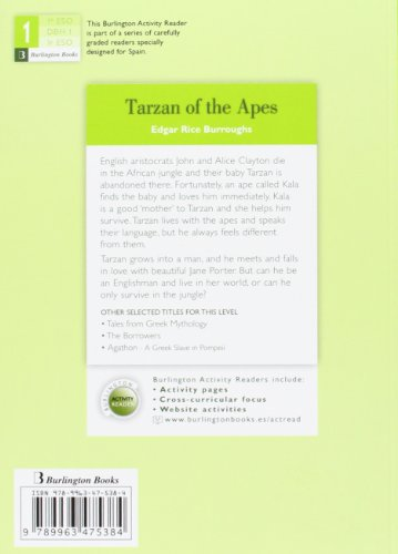 TARZAN OF THE APES 1§ESO BRN leer libros online gratis