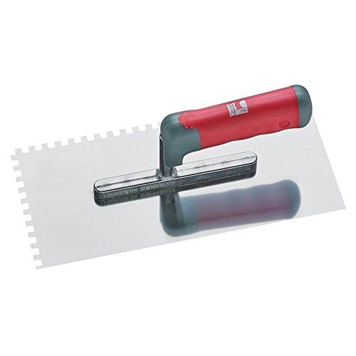 CircumPRO 4333097023222 Glättekelle 280x130mm Zahnung 8x8mm aus Edelstahl