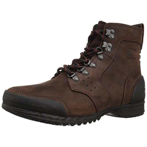 41MLoddJj3L. SS500  - Sorel Men's ANKENY MID HIKER Boots