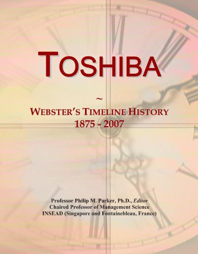 toshiba-websters-timeline-history-1875-2007