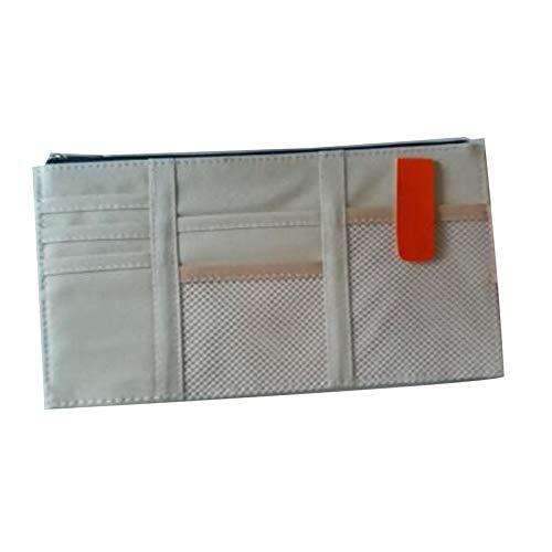 Bianchi Sun Visor Point Organizer Pouch Bag Pocket Card Storage Holder In-Car Registration Card