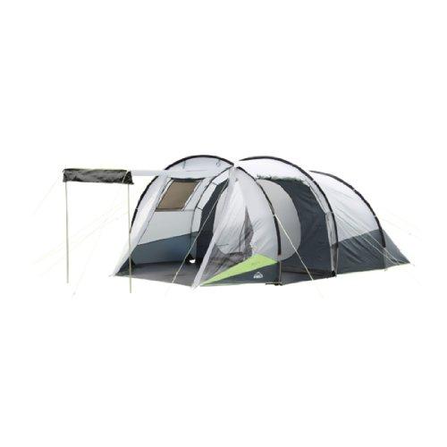 McKinley Camping-Zelt Alpha 4 Person (Größe / Farbe: 4 Personen - grau/grün)