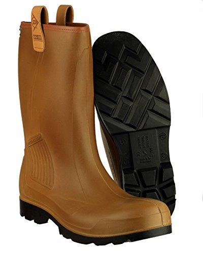 Dunlop R-AIR LINED C462743FL Wellington de sécurité brown