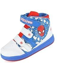 Spiderman Concourse blanc et bleu Hi à Trainer