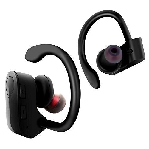 Auriculares inalámbricos Verdaderos Auriculares Bluetooth 4.2 Auriculares TWS Auriculares Deportivos Impermeables IPX5, adecuados para teléfonos Inteligentes Android/iPhone de Fitness/Deportes
