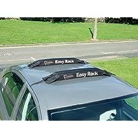 Easy Rack Motionperformance barres souples bien attachées pour tous types de toits de voiture, compatibles aux voitures de 2et de 4portes