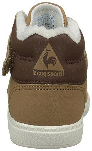 Le Coq Sportif 1620484 - Scarpe Unisex per Bambini Marrone (Tan/Mustang/Marshmal)