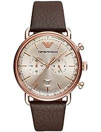 Emporio Armani Analog Grey Dial Men's Watch - AR11106