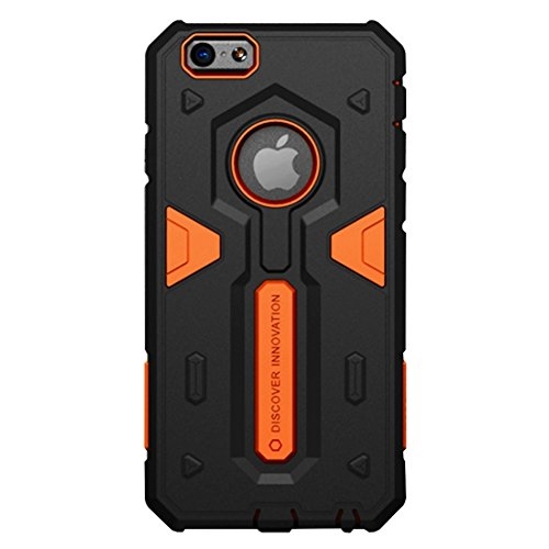 IPhone 7 Fall NILLKIN Tough Defener II Fall Shockproof TPU + PC Kombinationsfall für iPhone 7 by diebelleu ( Color : Black ) Orange