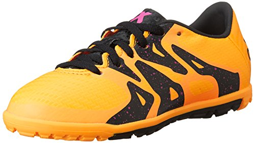 adidas X 15.3 Tf J S74663, Scarpe da Calcio Unisex-Bambini, Giallo (Yellow), 36 2/3 EU