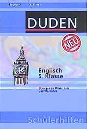 Duden Schülerhilfen, Englisch 5. Klasse (Livre en allemand) par Alois Mayer