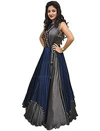 ab34ee2c5d6f Amazon.in: Greys - Lehenga Cholis / Ethnic Wear: Clothing & Accessories