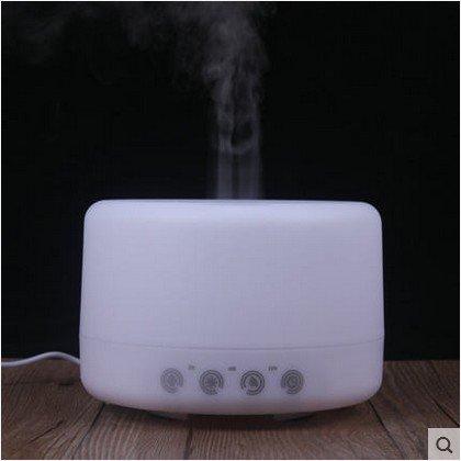 MAFYU Olio Essenziale diffusore e umidificatore con cambio colore luci a LED e Waterless Spegnimento automatico funzione, 12,6 * 14.6cm,luce calda (500ml), F